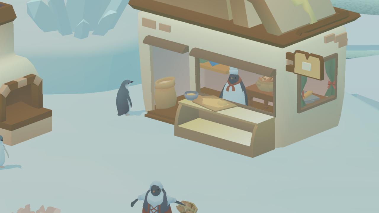 ハート 島 ペンギン の